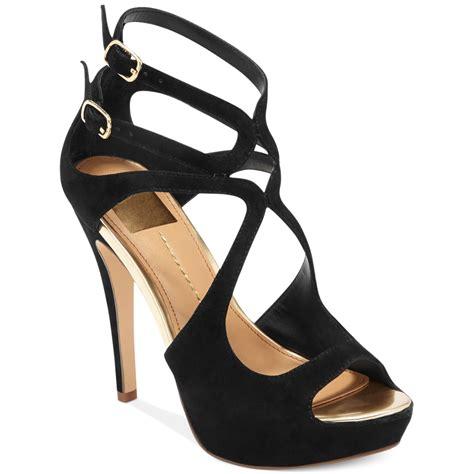 dv dolce vita sandals dolce vita dv by brielle platform sandals in black lyst