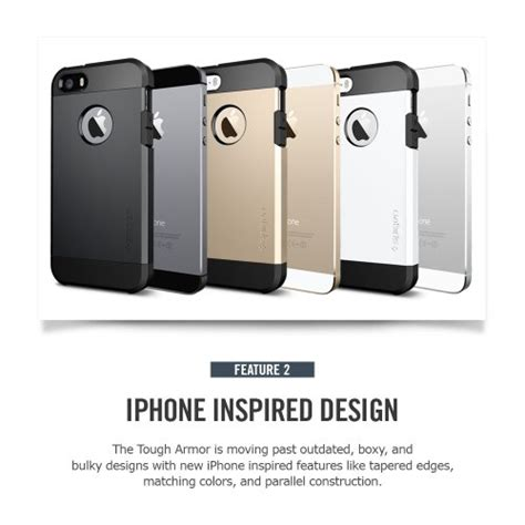 Casing Spigen Sgp Series Tough Armor Mini Mini Retina spigen sgp iphone 5s 5 tough armor series chagne