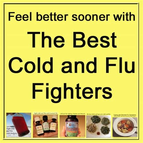remedies for colds and flu to help you feel better