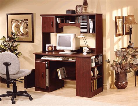 cherry wood computer desk with hutch southshore traditional cherrywood computer desk with hutch