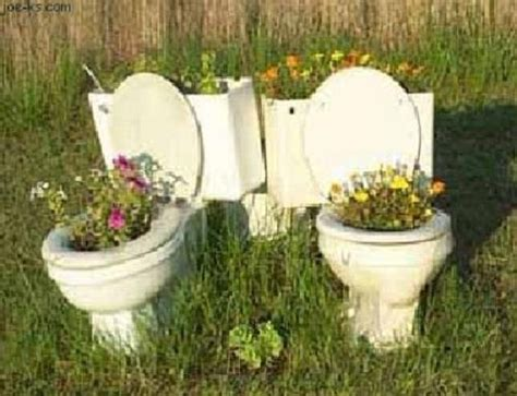 Toilet Flower Planter by Flower Pots Stuffs