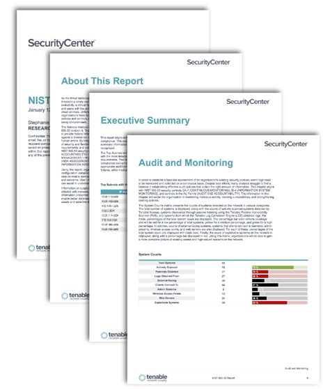 Nist 800 53 Report Sc Report Template Tenable Access Policy Template Nist