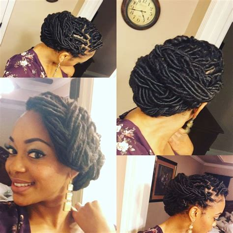 formal updos for locs 17 best images about loc love on pinterest flat twist