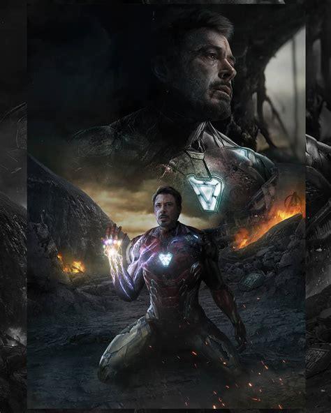 avengers endgame iron man snap wallpaper full hd