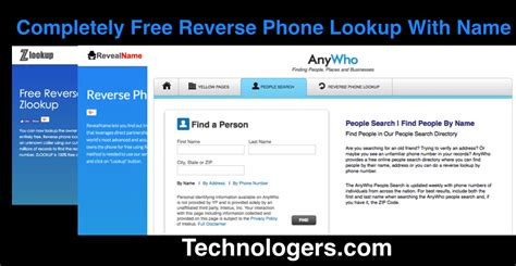 Free Finder By Name Phone Number Lookup Free Name