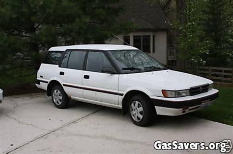 toyota awd wagon 1991 toyota corolla awd wagon