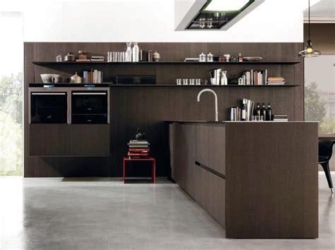 cucine con mensole parete attrezzata con mensole per cucine e living