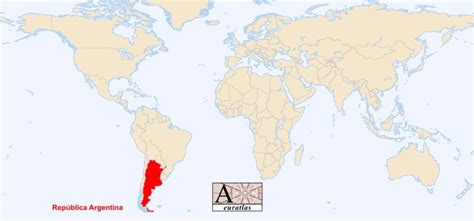 where is argentina on the world map world atlas the sovereign states of the world argentina