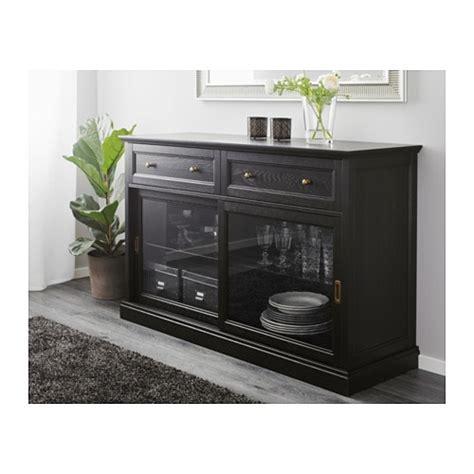 ikea malsjo malsj 214 sideboard basic unit black stained 145x92 cm ikea