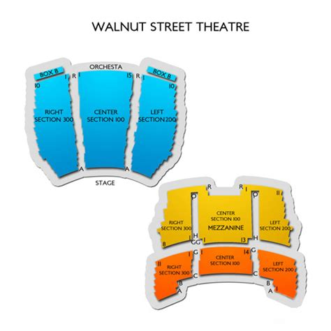 st theater seating plan walnut theatre seating chart seats