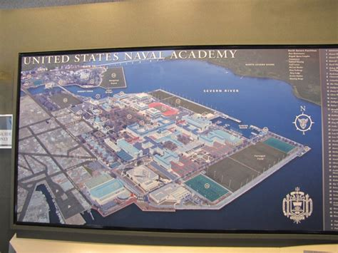 map us naval academy us naval academy map