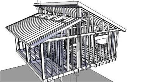 clerestory beam structure exterior house ideas