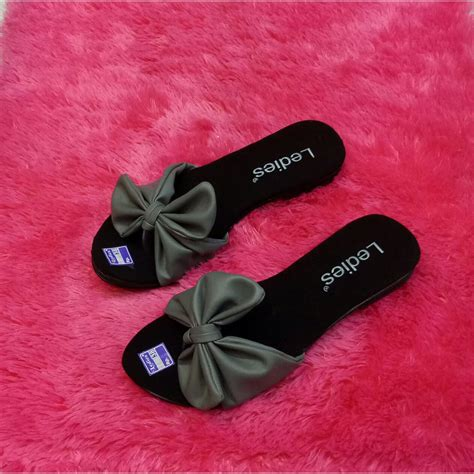 Ready Sendal Pita Bantal Batik jy sandal wanita pita salem terbaru cantik keren sepatu