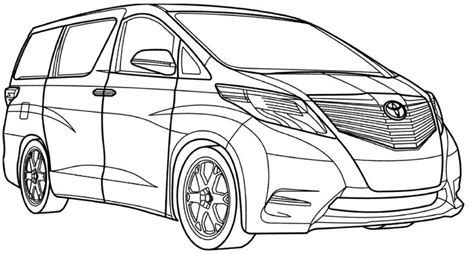 toyota car coloring page toyota mtmv coloring page cars coloring pages