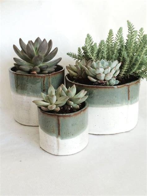 cylinder succulent pot set reserved custom listing for