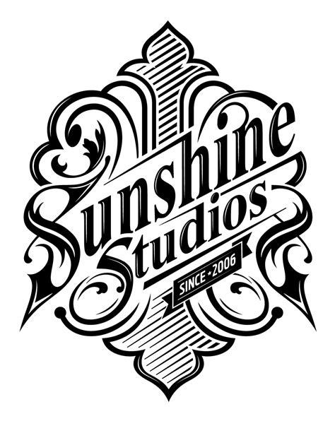 design a crest logo sunshine studios crest design on behance