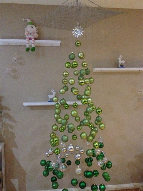 fishing line christmas tree cool alternative tree ideas branch out this year illusions