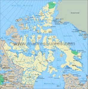 nunavut map canada map of nunavut canada canadaspace