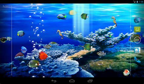 wallpaper pc aquarium bergerak akuarium apl android di google play