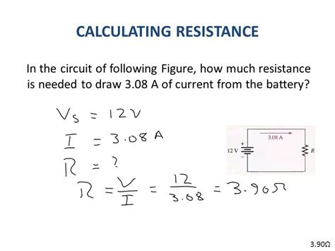 calculate resistor required previous lecture 2 review of v i and r ppt