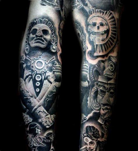 aztec snake tattoos designs 125 best aztec designs for