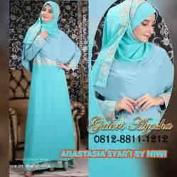 Fisya Syari Gamis Longdress Umroh Busana Haji Muslimah Ori gamis pesta sifon galeri ayesha jual baju pesta modern syar i dan stylish untuk
