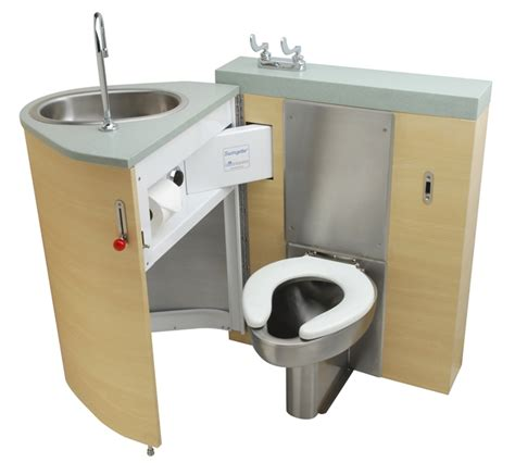 soar back waste outlet fixed toilet with pivoting oval
