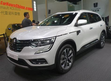 renault suv koleos renault koleos suv launched on the beijing auto
