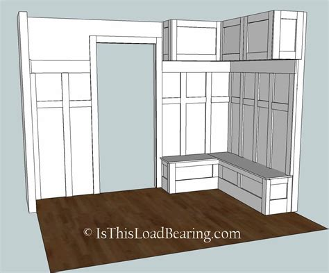 mudroom plans mudroom plan a is this load bearing