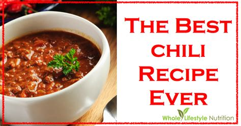 best chili recipe for best chili