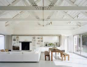 dwellers without decorators question should i paint my brown wood beam ceiling white