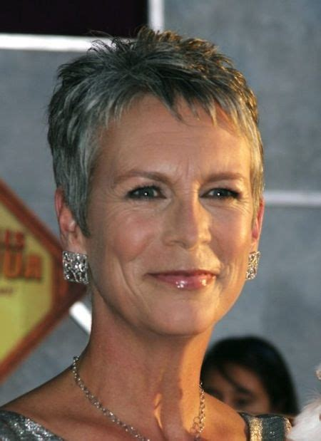 jamie lee haircut styles maintenance 92 best images jamie lee curtis mature cropped cut the salt and pepper