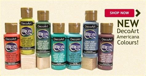 7 new decoart americana acrylic paint colors now available released 2016 decorative
