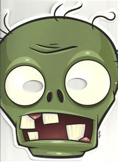 free printable zombie mask 1000 images about plants vs zombies on pinterest plants