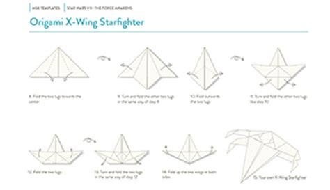 How To Make A Paper X Wing Fighter - wars the emerges from paper moleskine