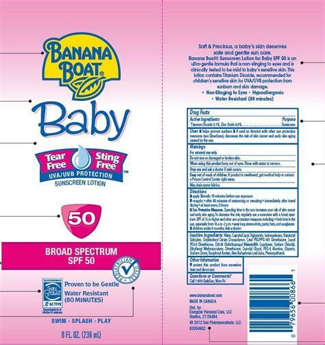 banana boat sunscreen chemicals banana boat sunscreen fda prescribing information side