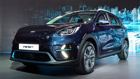 Kia Niro 2019 by 2019 Kia Niro Ev Debuts With 210 Horsepower 280 Of