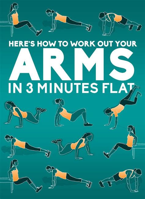 arm workout for 3 minute exercises to get rid of