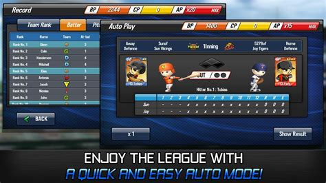 apk baseball baseball apk v1 1 1 mod unlimited autoplay points free apkmodx
