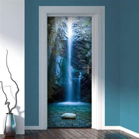 adesivi porte interne decorazione porta lagoon adesivi murali wall stickers