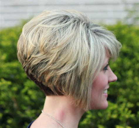 short stacked hairstyles with short sides inverted bob with stacked back 20 inverted bob
