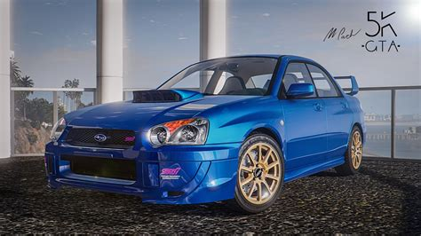 subaru wrx modded subaru impreza wrx sti 2004 add on tuning gta5 mods com