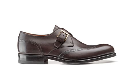 buckle shoes wing tip buckle shoes