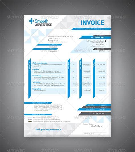 corporate design invoice corporate invoice template by departstudio graphicriver