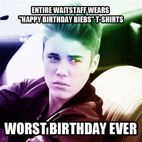 Justin Bieber Birthday Meme - 301 moved permanently