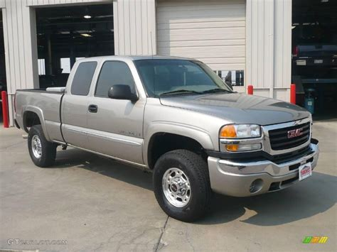 2003 pewter metallic gmc 2500hd sle extended cab 17184276 gtcarlot car color
