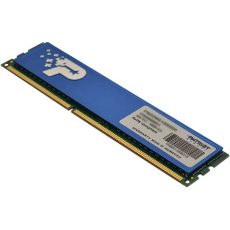 Ram 4gb Patriot patriot signature line 4gb 2 x 2gb ddr2 memory