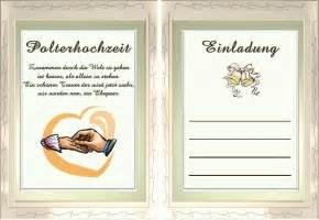 Einladung Zur Polterhochzeit by Polterhochzeit Einladung