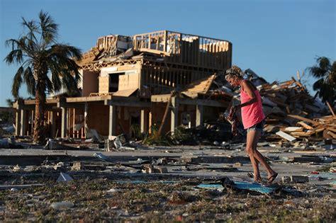 boat salvage hurricane michael flipboard hurricane michael devastating impact of record
