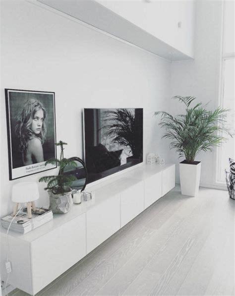 scandinavian ikea besta unit  living room homemydesign